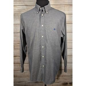 Brooks Brothers Shirts - Brooks Brothers Grey Traditional Regent Shirt XL